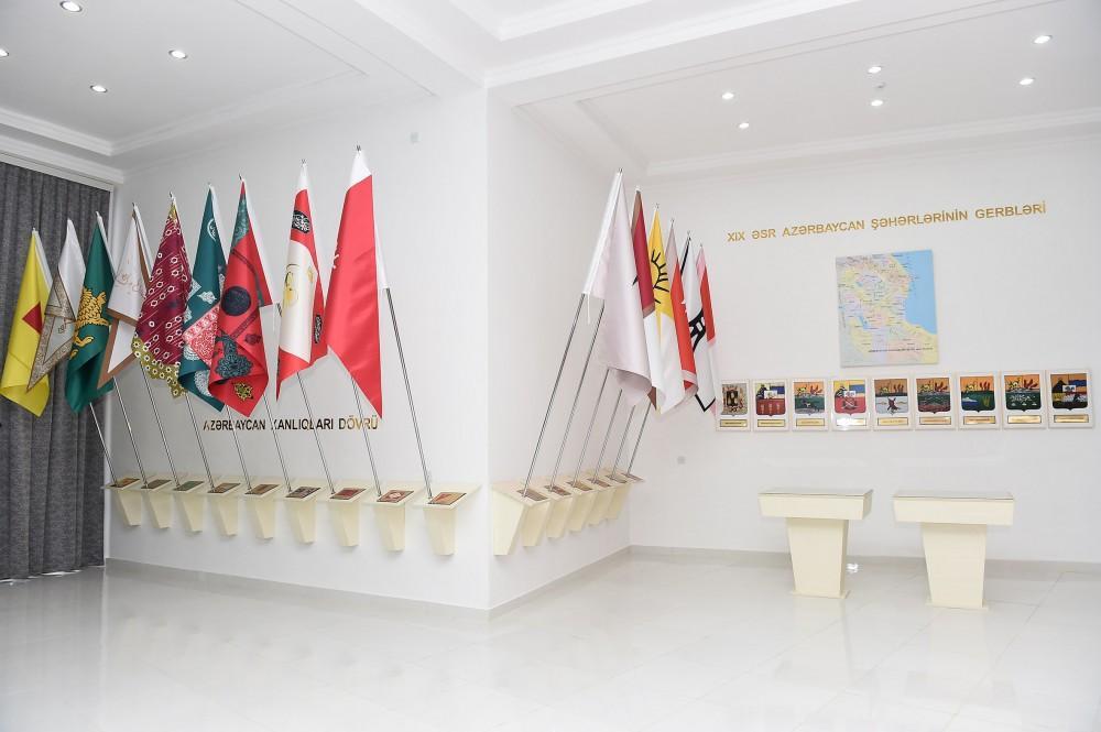 President Ilham Aliyev inaugurates Flag Museum in Lerik (PHOTO) - Gallery Image