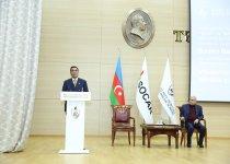 Baku Higher Oil School celebrates 70th anniversary of People's Artist Rasim Balayev (PHOTO) - Gallery Thumbnail