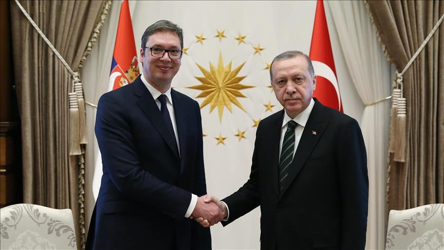 Leaders of Turkey and Serbia hold phone talks