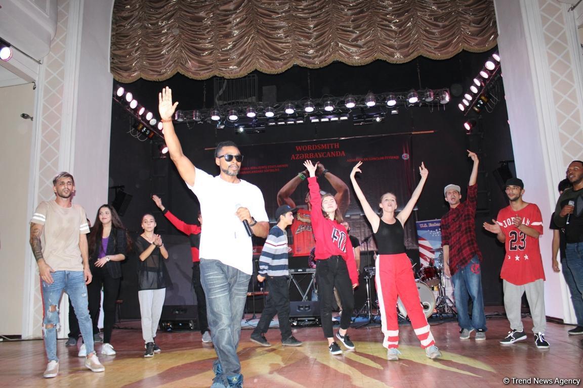 Здесь и сейчас: невероятный концерт американского рэпера Wordsmith в Баку (ФОТО) - Gallery Image