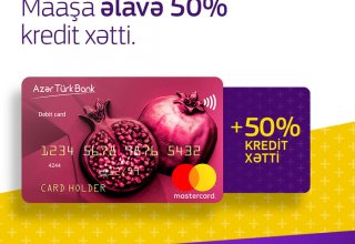 Azer Turk Bank offers interest-free credit lines for its salary card holders