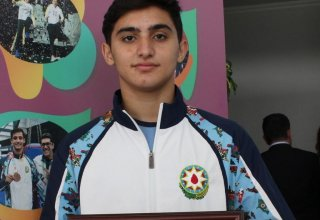 Young athlete praises conditions created by Azerbaijan Gymnastics Federation (PHOTO)
