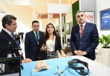 Heydar Aliyev Foundation VP Leyla Aliyeva viewed pavilion which showcases innovative products and successful start-up applications (PHOTO) - Gallery Thumbnail