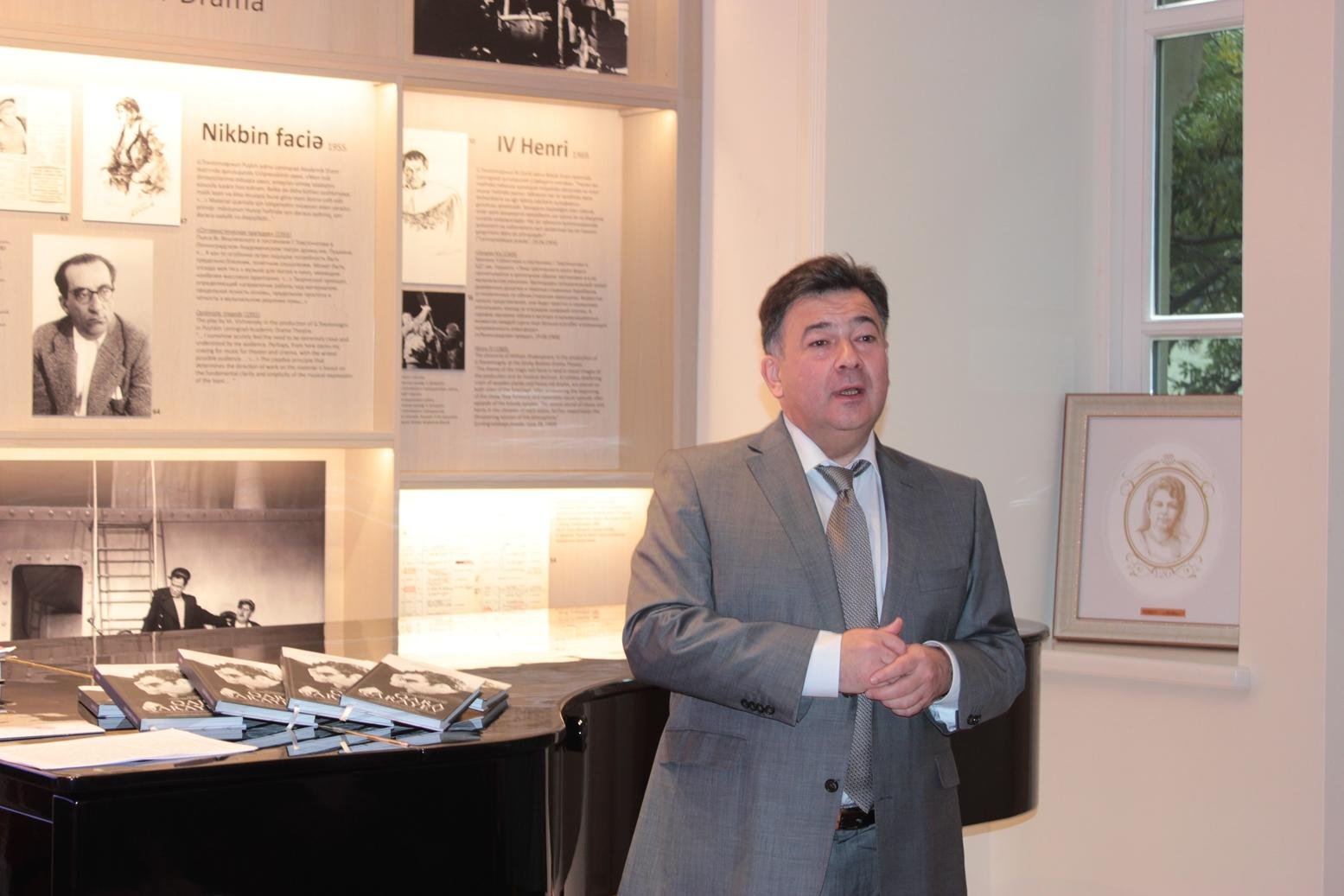 Гара Гараев объединяет: музеи и музыкальные связи Азербайджана и России (ФОТО) - Gallery Image
