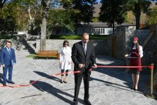 Azerbaijani president, first lady attend opening of ABAD Center of Ceramics and Applied Arts in Shaki (PHOTO) - Gallery Thumbnail