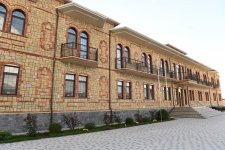 President Ilham Aliyev, First Lady Mehriban Aliyeva attend opening of orphanage building in Shaki (PHOTO) - Gallery Thumbnail