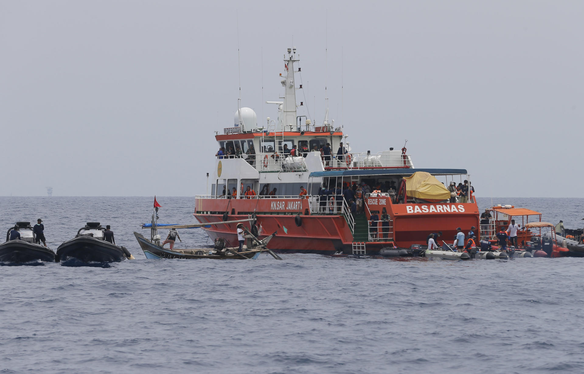 Indonesian rescue workers believe fuselage of crashed plane found