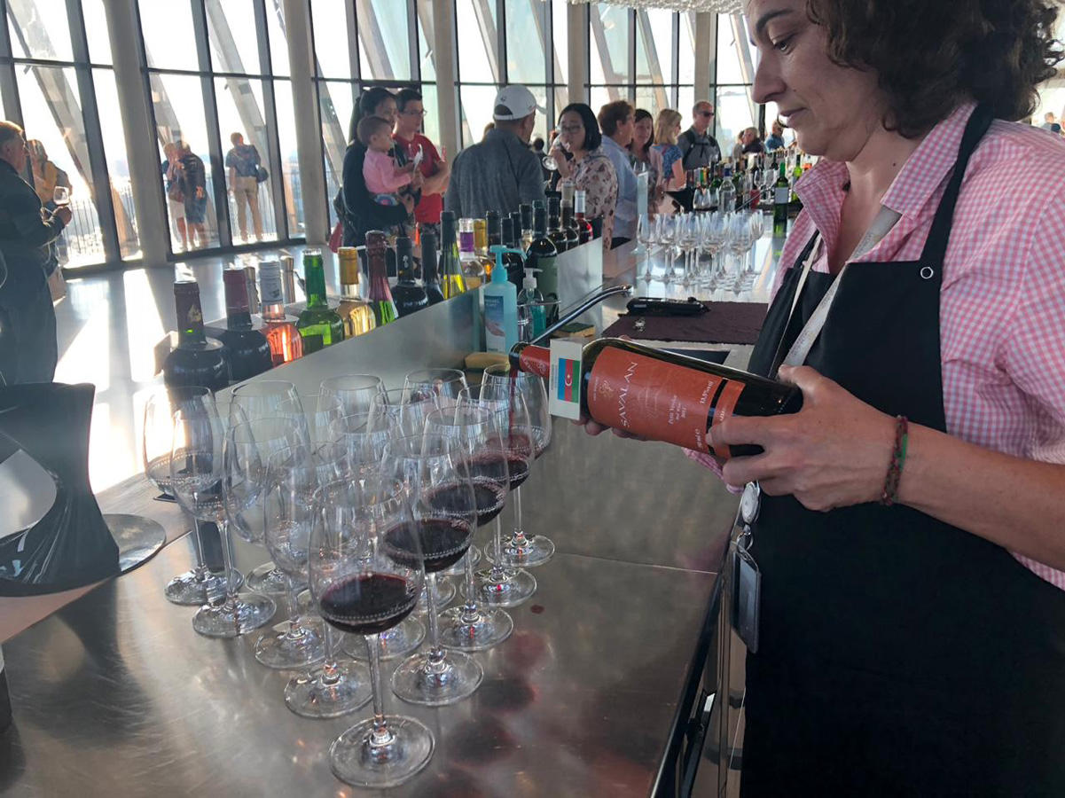SAVALAN Wines at famous wine museum (PHOTO) - Gallery Image