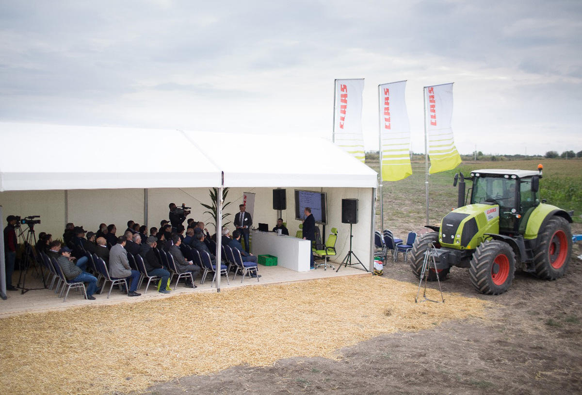 CLAAS to teach Azerbaijani farmers forage conservation technology (PHORO) - Gallery Image