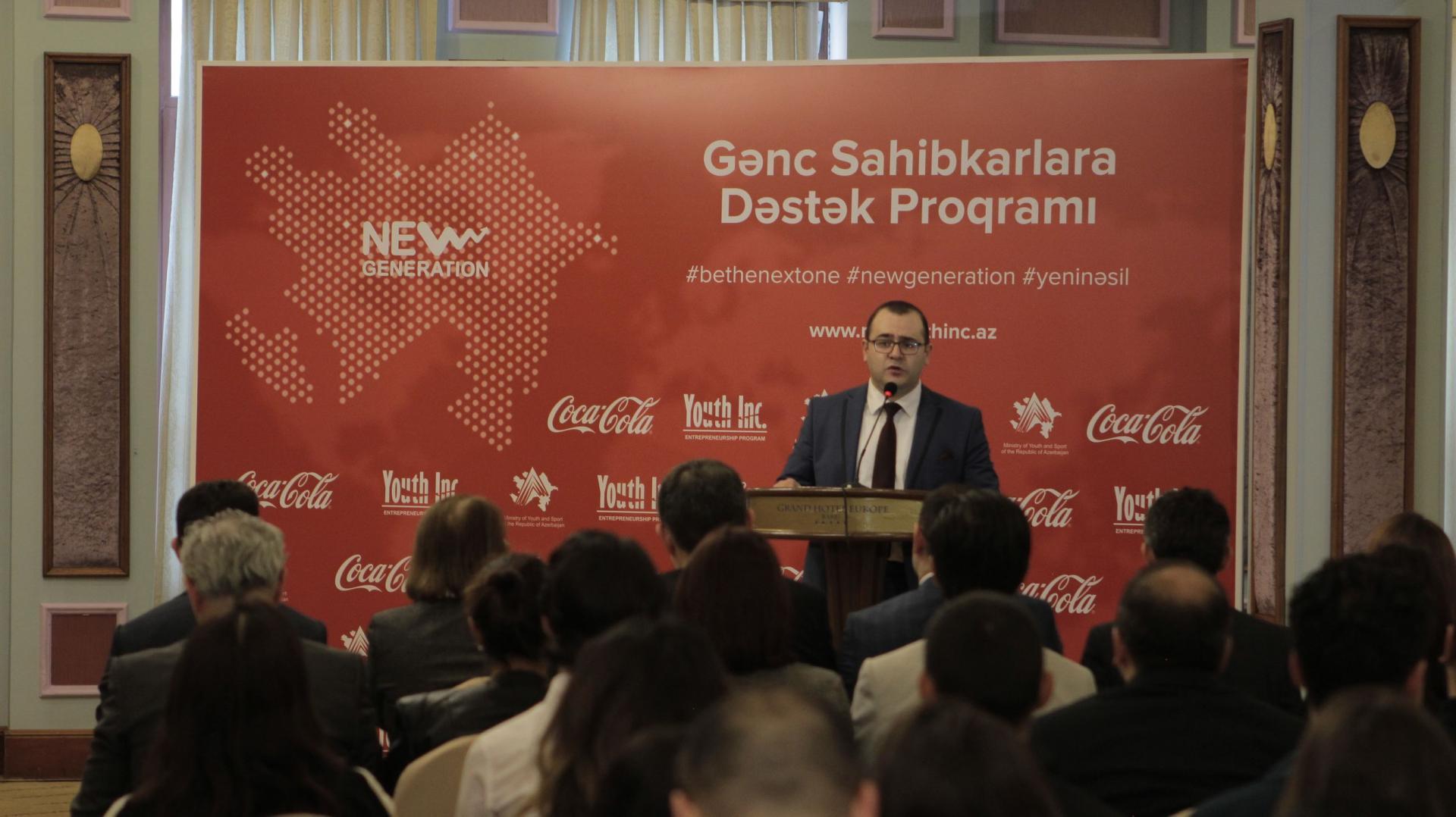Проект поддержки молодых предпринимателей «Новое поколение» стартовал в Азербайджане (ФОТО) - Gallery Image