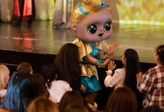 Спецэффекты от кукол LOL в Баку (ВИДЕО)