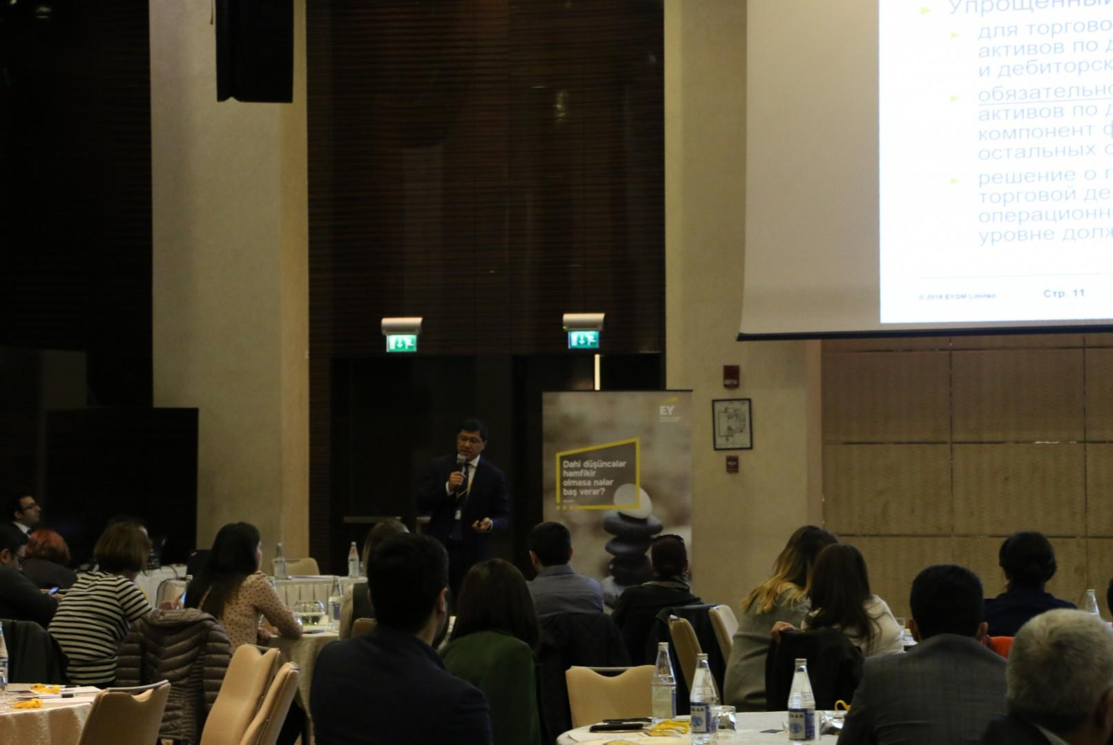 EY Azerbaijan updates clients in Baku on IFRS changes (PHOTO) - Gallery Image