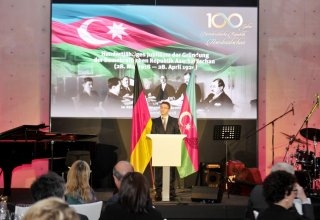 Heydar Aliyev Foundation organizes event on centenary of Azerbaijan Democratic Republic in Berlin (PHOTO)