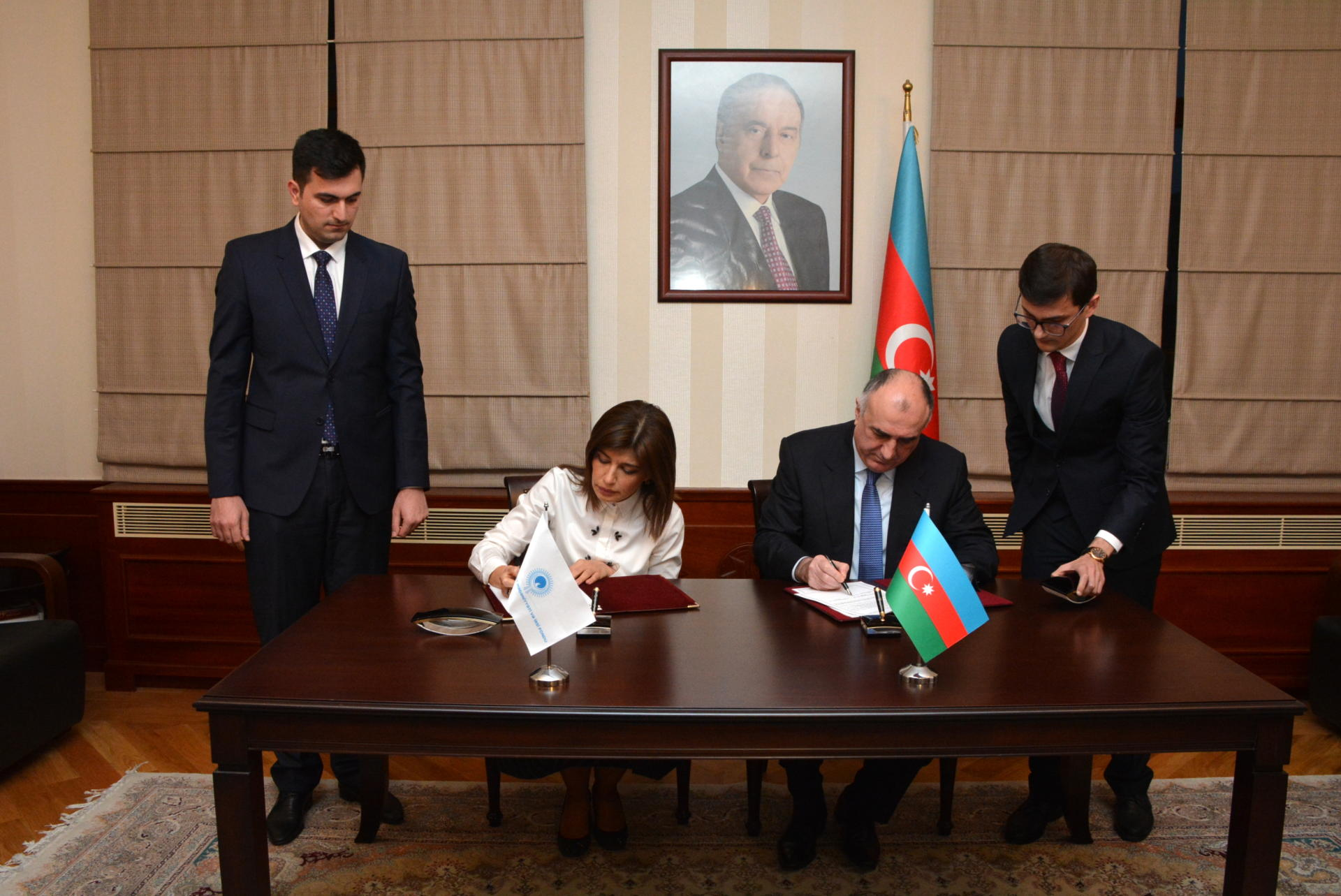 Azerbaijan, Turkic Culture and Heritage Foundation sign agreement (PHOTO)
