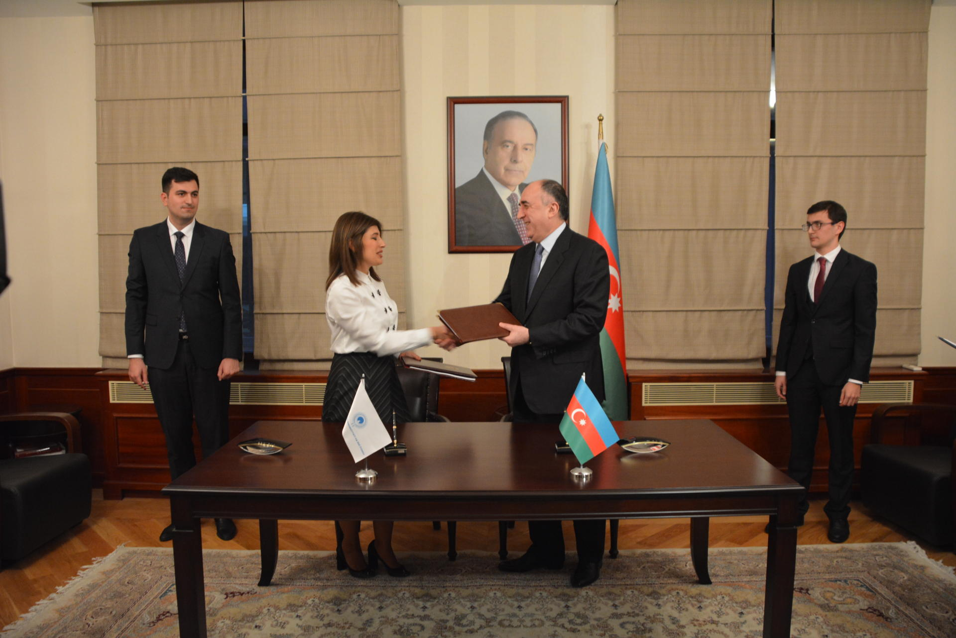 Azerbaijan, Turkic Culture and Heritage Foundation sign agreement (PHOTO) - Gallery Image