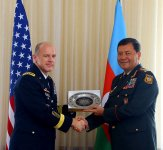 Azerbaijani peacekeepers are distinguished by their excellent service in the mission in Afghanistan - US General (PHOTO) - Gallery Thumbnail