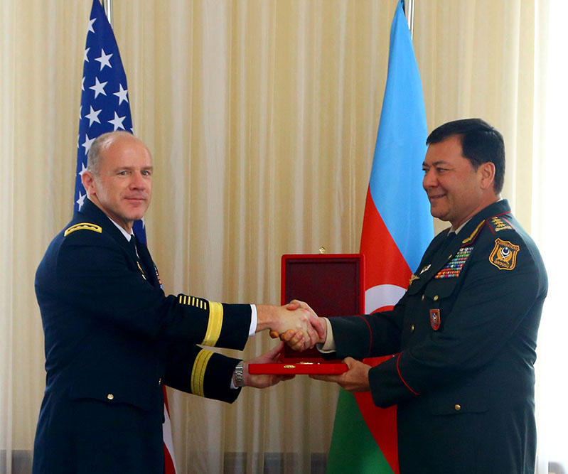 Azerbaijani peacekeepers are distinguished by their excellent service in the mission in Afghanistan - US General (PHOTO) - Gallery Image