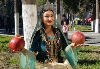 В Гёйчае  открылся красочный Фестиваль граната (ФОТО)