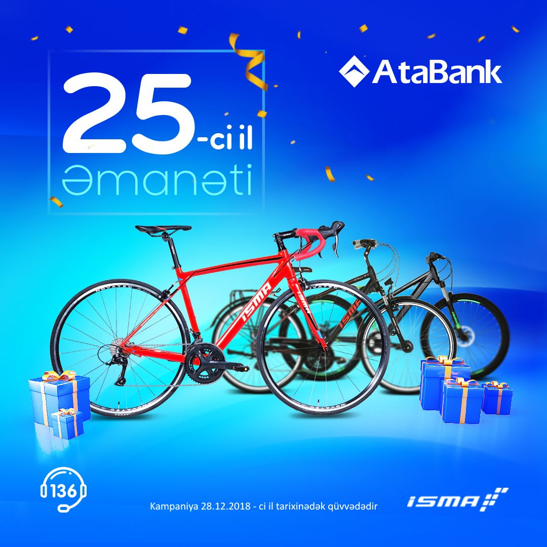 Azerbaijan's AtaBank gives ISMA Bikes as  New Year gift - Gallery Image