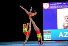 FIG Acrobatic Gymnastics World Cup podium training kicks off in Baku (PHOTO) - Gallery Thumbnail
