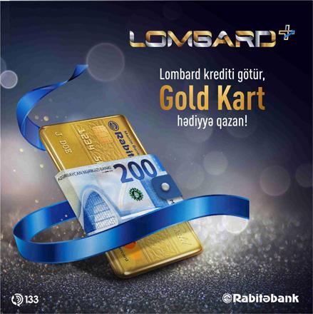 Получи ломбардный кредит в Rabitabank – заработай Gold карту!