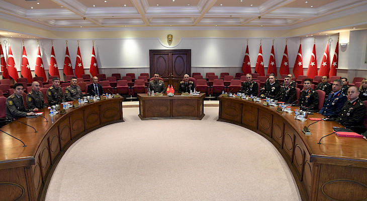 Heads of General Staff of Armed Forces of Kyrgyzstan and Turkey discuss military cooperation
