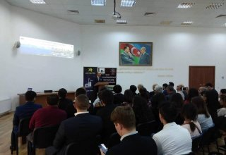 Film on historical lands of Azerbaijan presented in Baku (PHOTO)