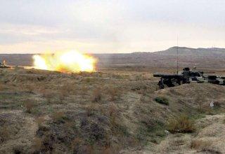 Armenian 'Uragan' multiple launch rocket system destroyed