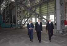Azerbaijani president opens non-ferrous metals and foundry plant in Sumgait (PHOTO) - Gallery Thumbnail