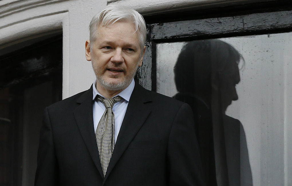 U.S. charges Assange after London arrest ends 7 years of solitude in Ecuador embassy