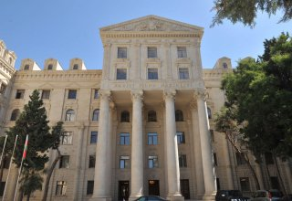 It is necessary to end deployment of Armenian armed forces on territory of Azerbaijan - Foreign Ministry