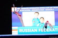 Лучшие моменты первого дня Кубка мира по акробатической гимнастике в Баку  (ФОТОРЕПОРТАЖ) - Gallery Thumbnail