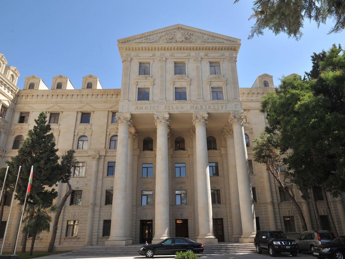 Необходимо положить конец размещению вооруженных сил Армении на территории Азербайджана - МИД