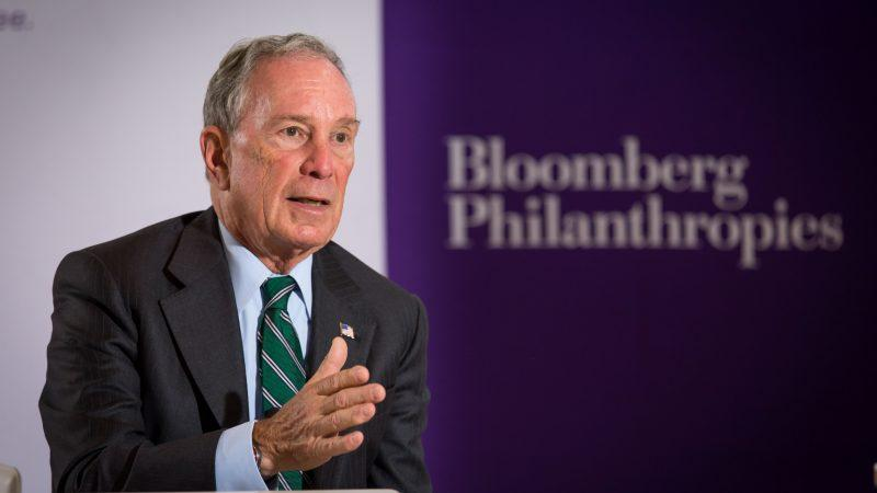 Bloomberg gives Johns Hopkins a record $1.8 billion for student financial aid