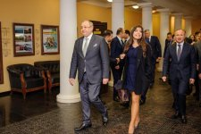 Heydar Aliyev Foundation VP Leyla Aliyeva attends opening of conference on Nasimi's spiritual legacy in Moscow (PHOTO) - Gallery Thumbnail