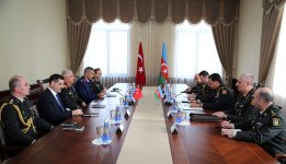 Chiefs of general staffs of Azerbaijan, Turkey hold meeting (PHOTO) - Gallery Thumbnail