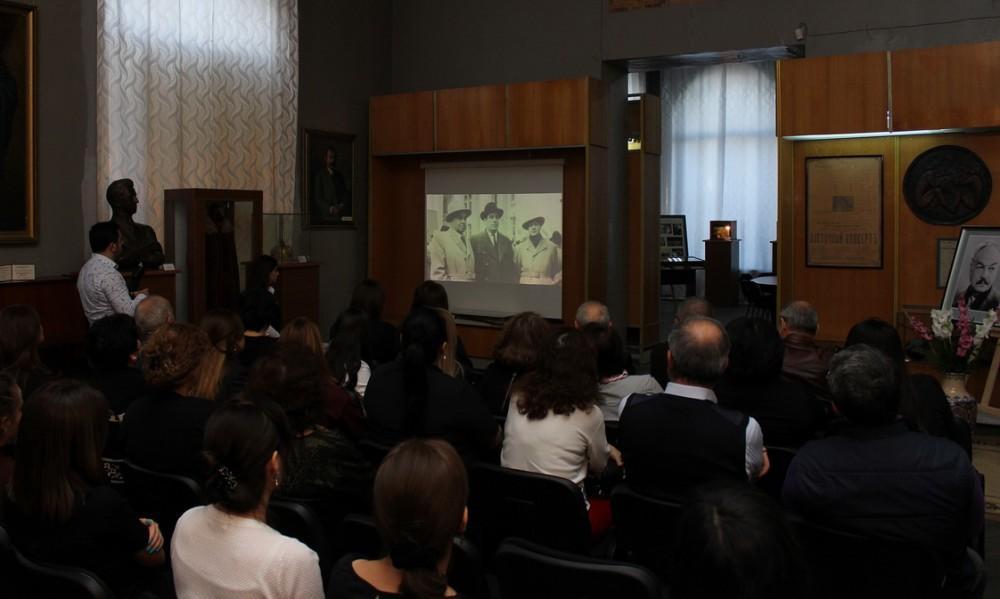 Görkəmli teatr rejissoru Mehdi Məmmədovun 100 illiyi qeyd edilib (FOTO) - Gallery Image