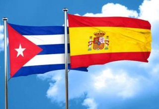 Spanish king pays courtesy visit to Raul Castro