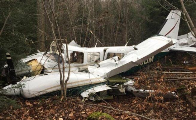 Small plane crashes in Czech Republic, killing 2