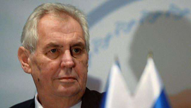 Czech President welcomes China's participation in highway construction