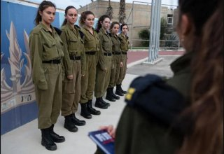 First six female recruits enlist to serve on Israeli navy's new Sa'ar 6 missile ships