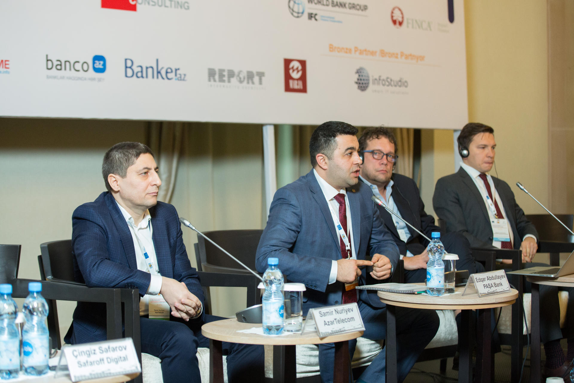 Commercial Director of AzerTelecom talks about financial technologies (FinTech) (PHOTO) - Gallery Image