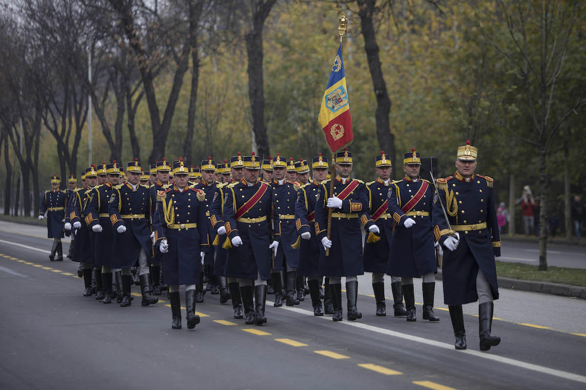 Romania marks Centennial National Day with grand military parade
