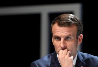 France's Macron says U.S. maximum pressure on Iran not working