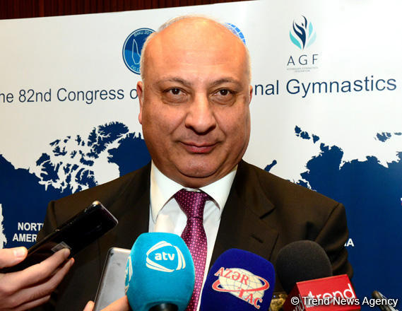 Altay Hasanov: Decisions made at FIG's Baku Congress to give big impetus to development of gymnastics