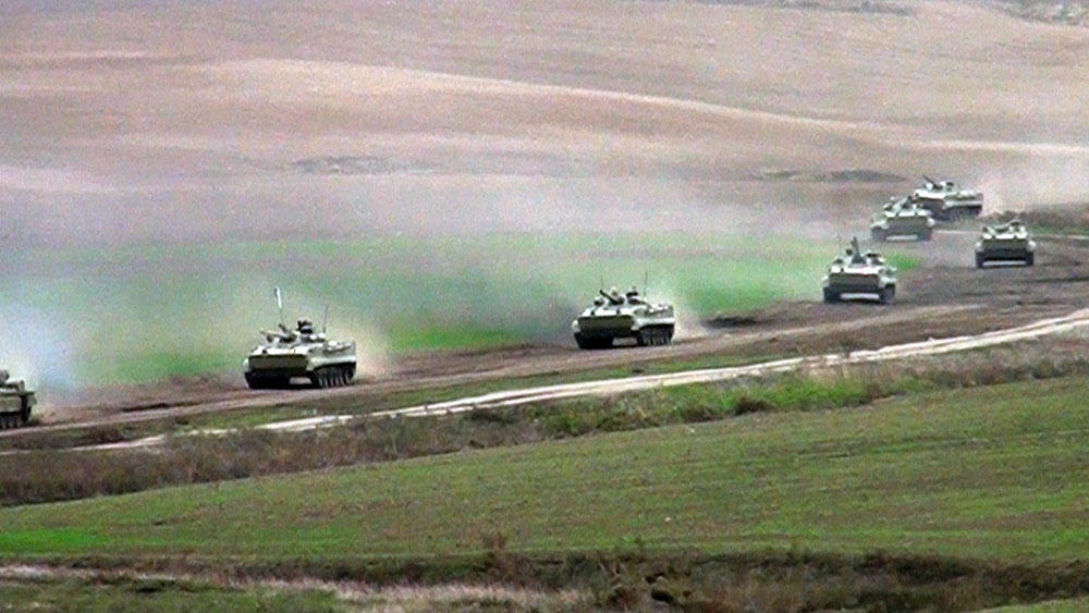 Azerbaijani army conducts live-fire exercises (PHOTO/VIDEO) - Gallery Image