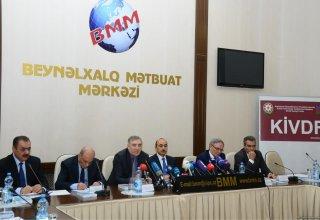 В Баку прошла конференция по итогам мониторинга соблюдения теле- и радиовещателями норм литературного языка (ФОТО)