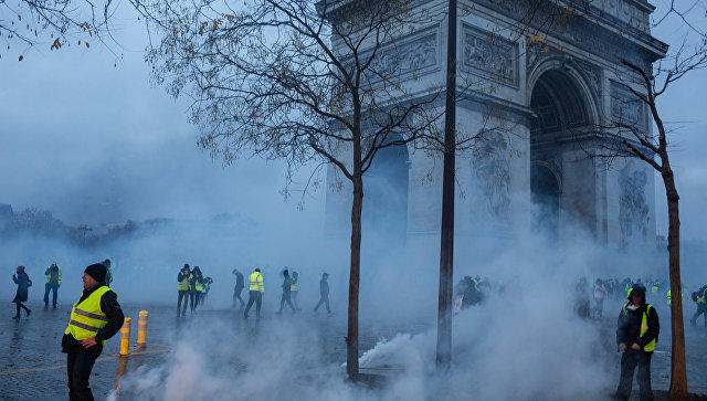 28,000 people take part in Yellow Vests protests in France on Nov 16 - ministry