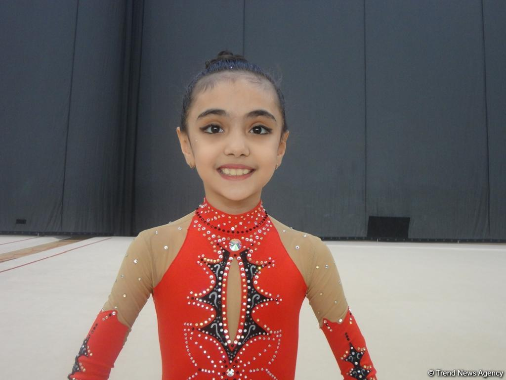Azerbaijani athlete dreams of ranking first in competitions at National Gymnastics Arena