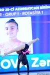 Milli Gimnastika Arenasında bədii gimnastika üzrə 25-ci Azərbaycan Birinciliyinin ikinci günü (FOTO) - Gallery Thumbnail